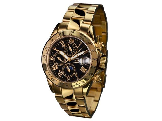 salvare c4def 63c65 André Belfort Le Capitaine gold nero | Orologissimo.it Shop