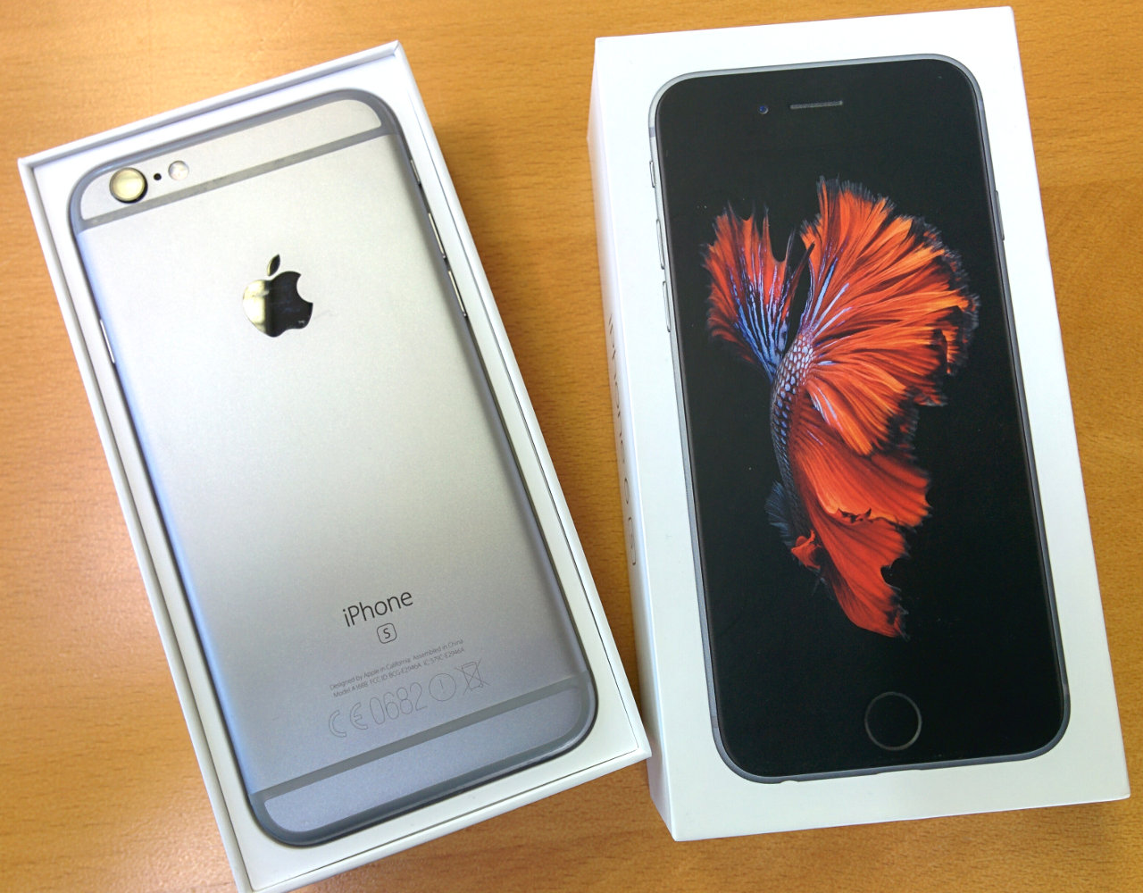 apple iphone 6s space gray 128gb a1688 mkqt2zd a spacegrau. Black Bedroom Furniture Sets. Home Design Ideas